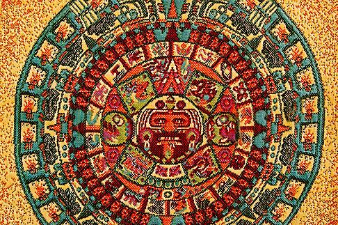 image 4-850-2769 Mexican art, Aztec Calendar