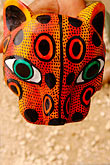 travel stock photography | Mexican art, Carved jaguar mask, image id 4-850-2803