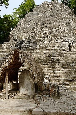image 4-850-2834 Mexico, Yucatan, Coba, La Iglesia