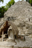 temple stock photography | Mexico, Yucatan, Coba, La Iglesia, image id 4-850-2834
