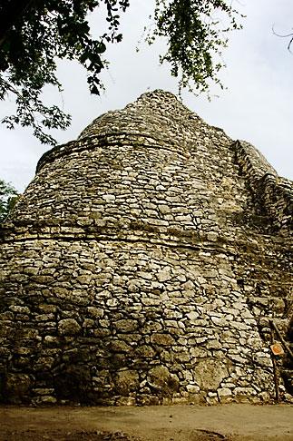 image 4-850-2847 Mexico, Yucatan, Coba, La Iglesia