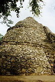 temple stock photography | Mexico, Yucatan, Coba, La Iglesia, image id 4-850-2847