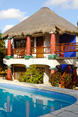 swimming pool stock photography | Mexico, Riviera Maya, Tulum, Cabanas Ana y Jose, image id 4-850-2957