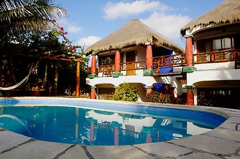 image 4-850-2958 Mexico, Riviera Maya, Tulum, Cabanas Ana y Jose