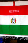 sell stock photography | Mexico, Playa del Carmen, Mexican flag, image id 4-850-3267