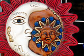 folk art stock photography | Mexico, Playa del Carmen, Sun and moon, image id 4-850-3289