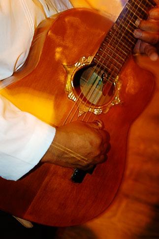 image 4-850-3410 Mexico, Playa del Carmen, Mariachi guitar