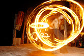 central america stock photography | Mexico, Playa del Carmen, Fire dancer, image id 4-850-3585