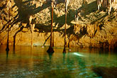 yucatan stock photography | Mexico, Riviera Maya, Hidden Worlds cenote, underground pool, image id 4-850-3716