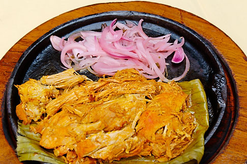 image 4-850-3805 Mexican Food, Cochinita Pibil, Axiote marinated pork