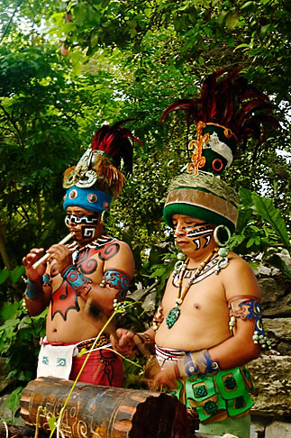 image 4-850-3818 Mexico, Riviera Maya, Xcaret, Folkloric show