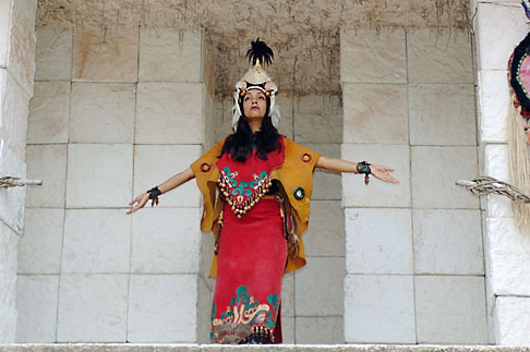 image 4-850-3830 Mexico, Riviera Maya, Xcaret, Folkloric show