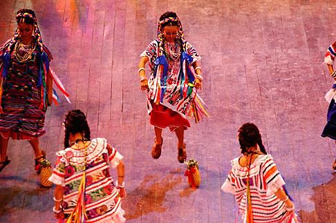 image 4-850-3890 Mexico, Riviera Maya, Xcaret, Folkloric show