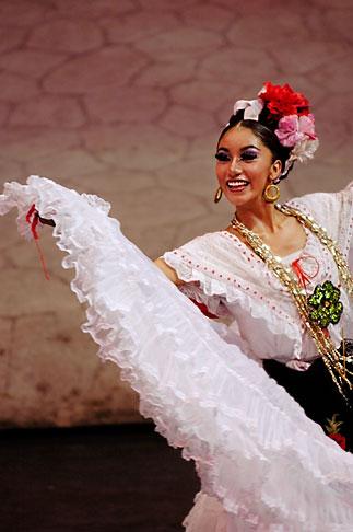 image 4-850-3907 Mexico, Riviera Maya, Xcaret, Dancer