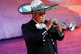 one man only stock photography | Mexico, Riviera Maya, Xcaret, Mariachi, image id 4-850-3953