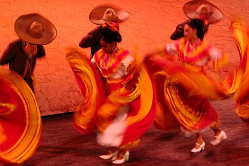 image 4-850-3969 Mexico, Riviera Maya, Xcaret, Folkloric show