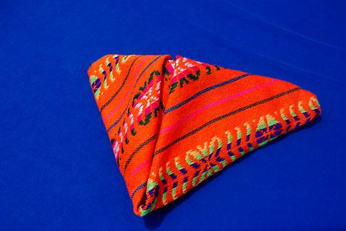 image 4-850-4509 Mexico, Riviera Maya, Colorful napkin