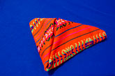 triangle stock photography | Mexico, Riviera Maya, Colorful napkin, image id 4-850-4509