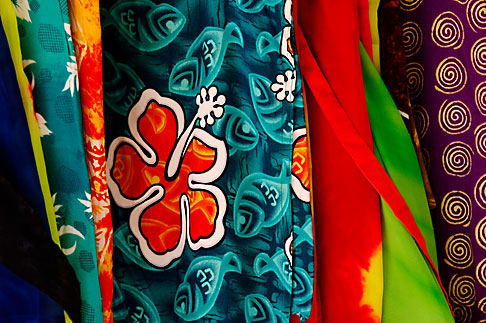 image 4-850-4753 Mexico, Riviera Maya, Fabrics in shop