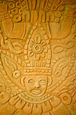 travel stock photography | Mexico, Riviera Maya, Carved Mayan woodwork, image id 4-850-5188