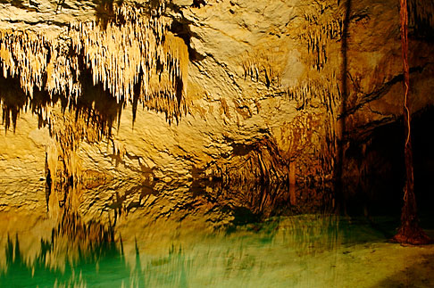 image 4-850-5256 Mexico, Riviera Maya, Hidden Worlds cenote, underground pool