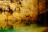 pool stock photography | Mexico, Riviera Maya, Hidden Worlds cenote, underground pool, image id 4-850-5256