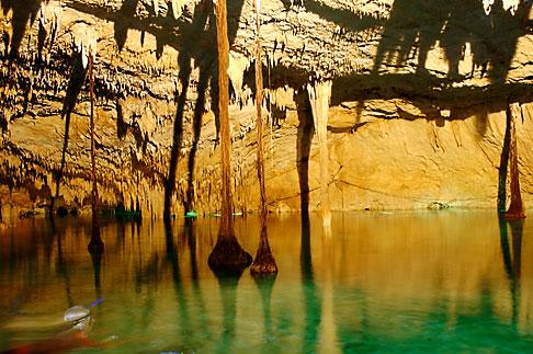 image 4-850-5262 Mexico, Riviera Maya, Hidden Worlds cenote, underground pool