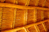 central america stock photography | Mexico, Riviera Maya, Thatched interior roof, image id 4-850-5377