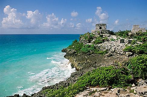 image 4-871-7 Mexico, Yucatan, Tulum, El Castillo