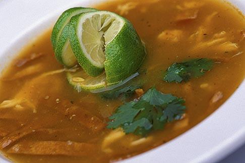 image 4-872-36 Mexico, Playa del Carmen, Sopa de limon