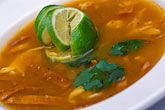 horizontal stock photography | Mexico, Playa del Carmen, Sopa de limon, image id 4-872-36