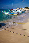 central america stock photography | Mexico, Playa del Carmen, Fishing Boats, image id 4-883-87