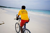 bicyclist stock photography | Mexico, Yucatan, Tulum, Beach, image id 4-885-60