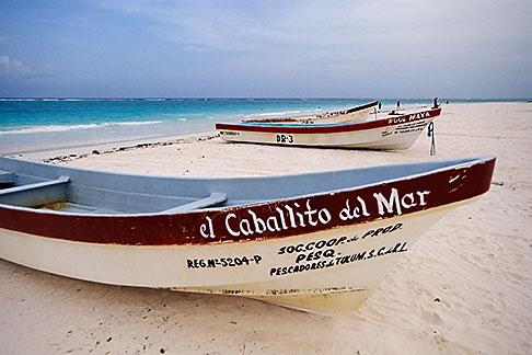 image 4-885-62 Mexico, Yucatan, Tulum, Beach