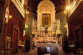 interior of church stock photography | Mexico, Mexico City, Interior, Iglesia del Cerrito, Tepeyac, image id 5-23-10