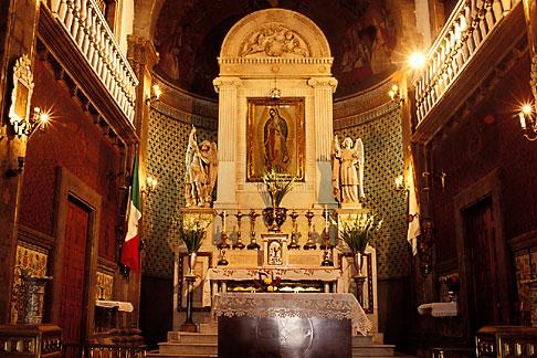 image 5-23-9 Mexico, Mexico City, Interior, Iglesia del Cerrito, Tepeyac