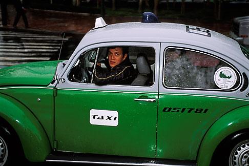 image 5-4-15 Mexico, Mexico City, Volkswagen taxi, Paseo de la Reforma