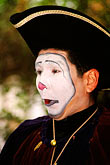 face stock photography | Mexico, Mexico City, Mime, Baz�r Sabado, San Angel, image id 5-52-12