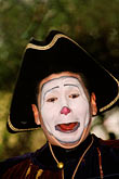 painted face stock photography | Mexico, Mexico City, Mime, Baz�r Sabado, San Angel, image id 5-52-17