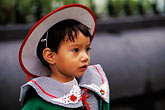 city model stock photography | Mexico, Mexico City, Young girl, Plaza Hidalgo, Coyoac�n, image id 5-59-23