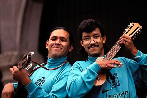 image 5-62-15 Mexico, Mexico City, Musicians, Plaza Hidalgo, Coyoacan