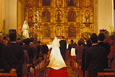 horizontal stock photography | Mexico, Mexico City, Wedding, Capilla de la Concepci�n, Coyoac�n, image id 5-64-15