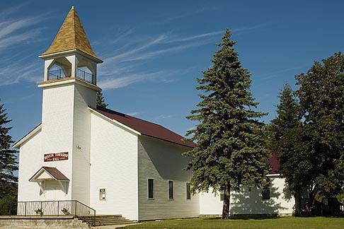 image 4-940-1098 Michigan, Upper Peninsula, Church, Nahma