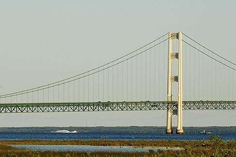image 4-940-6016 Michigan, Mackinac, Mackinac Bridge