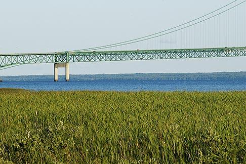 image 4-940-6038 Michigan, Mackinac, Mackinac Bridge