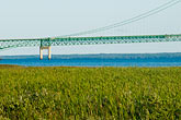 michigan stock photography | Michigan, Mackinac, Mackinac Bridge, image id 4-940-6038
