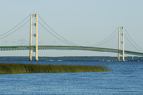image 4-940-6045 Michigan, Mackinac, Mackinac Bridge