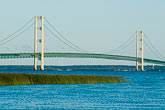 bridge stock photography | Michigan, Mackinac, Mackinac Bridge, image id 4-940-6045
