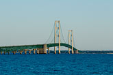 horizontal stock photography | Michigan, Mackinac, Mackinac Bridge, image id 4-940-6056