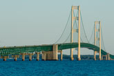 bridge stock photography | Michigan, Mackinac, Mackinac Bridge, image id 4-940-6058